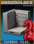 DRAGONLOCK Ultimate: Tavern Walls (Classic Tile)