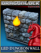 DRAGONLOCK Ultimate: LED Dungeon Wall (Separate)