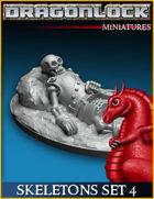 DRAGONLOCK Miniatures: Skeletons Set 4