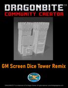 GM Screen Dice Tower Remix