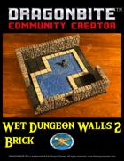 Wet Dungeon Walls 2: Brick