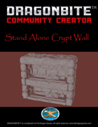 Stand Alone Crypt Wall