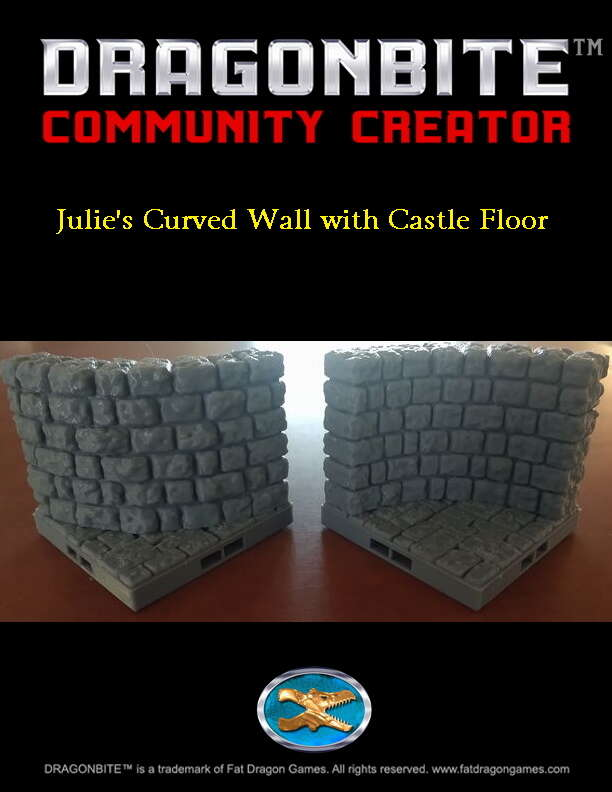 Julie's Curved Wall with Castle Floor