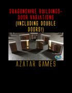 Dragonbite DRAGONSHIRE Buildings-Door Variations