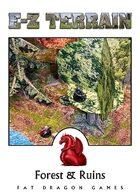 E-Z TERRAIN: Forest & Ruins