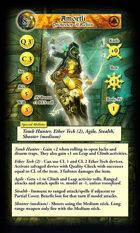 ShadowSea - Axibalan Empire Game Cards - Tarot Sized