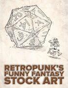 RetroPunk's Funny Fantasy Stock Art