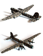 1/100 (15mm) Heinkel He-177 Greif paper model