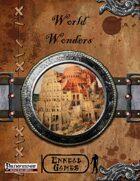 [PFRPG] - World Wonders