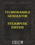 Technobable Generator - Steampunk Edition