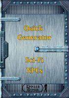 Quick Generator - SciFi NPCs