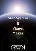 Star System and Planet Maker