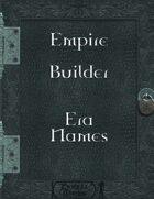 Empire Builder - Era Names