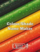 Colour/Shade Name Maker