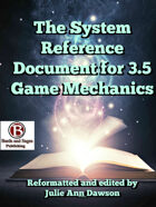 The System Reference Document for 3.5 Game Mechanics (Volume Two)