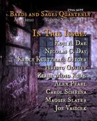 Bards and Sages Quarterly (April 2020)