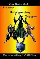 Karma Roleplaying System Core Rules Book
