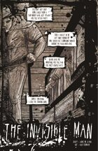 Invisible Man (5 of 16 in KILLER QUEEN, A Comic Anthology)