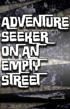 Adventure Seeker on an Empty Street (16 of 16 in KILLER QUEEN, A Comic Anthology)