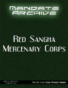 Mandate Archive: Red Sangha Mercenary Corps