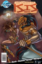 The Legend of Isis: The First Flight of Horus #1