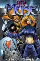 10th Muse: Clash of the Muses: Trade Paperback