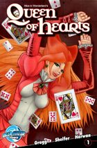 Alice in Wonderland's Queen of Hearts #1