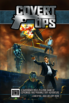 Covert Ops - Core Rulebook (Softcover)