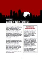 White Lies - Agency Wristwatch