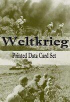 Weltkrieg Printed Data Card Set