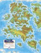 Murphy's World Map - Western Hemisphere