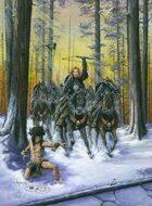 Infinite Images - Stock Illustration - Kommanza Warriors - Quarter Page, RGB 150ppi