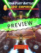 Star Fleet Battles: Module C6 Lost Empires - Preview