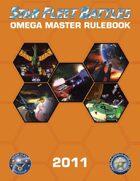 Star Fleet Battles: Omega Master Rulebook 2011