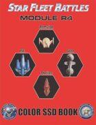 Star Fleet Battles: Module R4 SSD Book (Color)