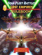 Star Fleet Battles: Module C6 - Lost Empires Rulebook