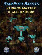 Star Fleet Battles: Klingon Master Starship Book