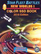 Star Fleet Battles: Module C1 - New Worlds I SSD Book (Color) 2015