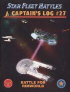 Captain's Log #27