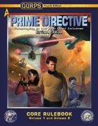 GURPS Prime Directive 4e Revised, Volume 1 and Volume 2