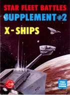 Star Fleet Battles Commander's Edition, Supplement #2