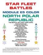 Star Fleet Battles: Module E5 - North Polar Republic (Color)
