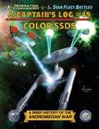 Captain's Log #49 Color SSDs