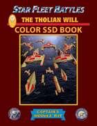 Star Fleet Battles: Module R4T - The Tholian Will SSD Book (Color)
