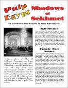 Shadows of Sekhmet