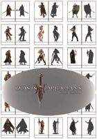 Beasts and Barbarians Steel Edition Figure Flats