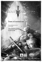 Beasts & Barbarians Game Master Screen