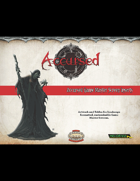 Accursed Game Master Screen Inserts