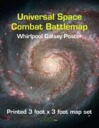 Universal Space Combat Battlemap - Far Away Galaxy Poster