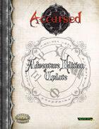 Accursed Adventure Edition Update
